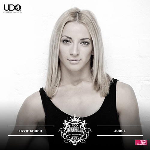 UDO street dance judge Lizzie Gough