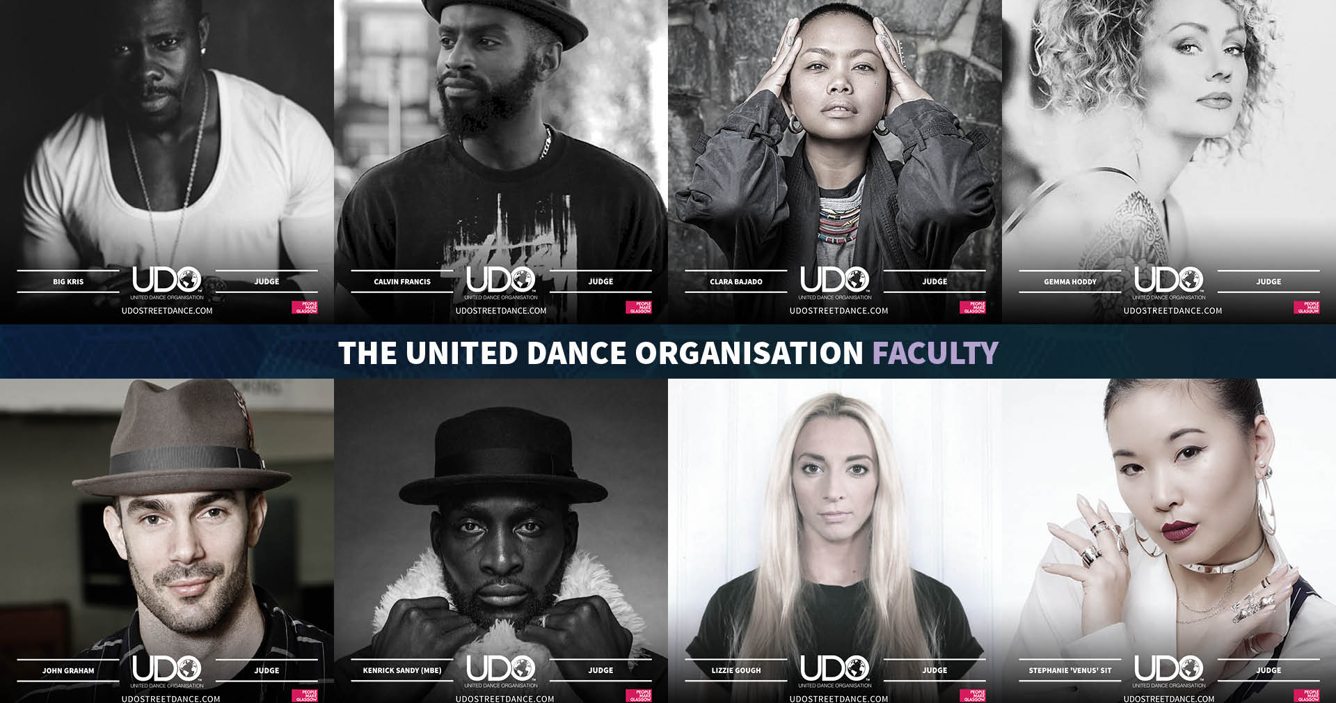 UDO Judges Panel and Faculty